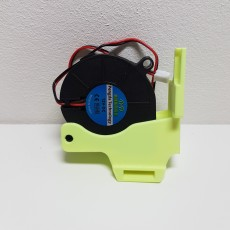 cr10s v6 and volcano clone 5015 adjustable fan mount