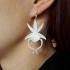 Ghost Orchid Pendant Earrings image