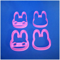 Picture of print of Cookie cutters - Cute Bunny