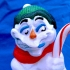 Snowman Candy Cane holder image