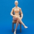 3DPrintable Female Articulated Figure image