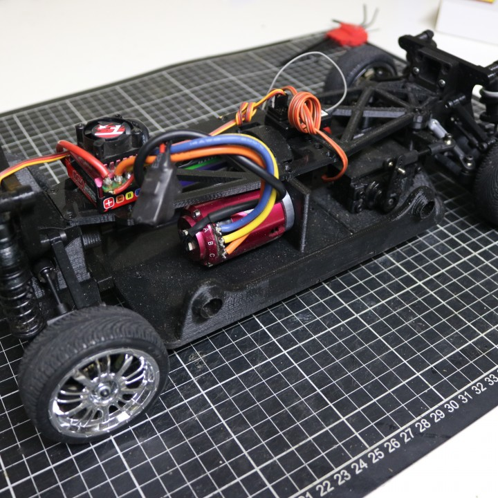 MyRCCar 1/10 On-Road Build for Tesla Model S Body