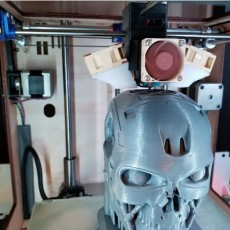 Ultimaker Original Plus with E3D v6, dual fan, and BLTouch print head