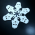 Star Wars Themed Christmas Snowflake Ornament image