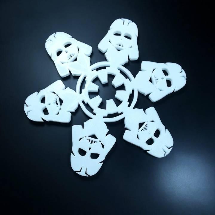 Star Wars Themed Christmas Snowflake Ornament