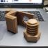 Headphone hook / SD card holder print image