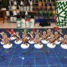 Picture of print of Gingerbread attackers