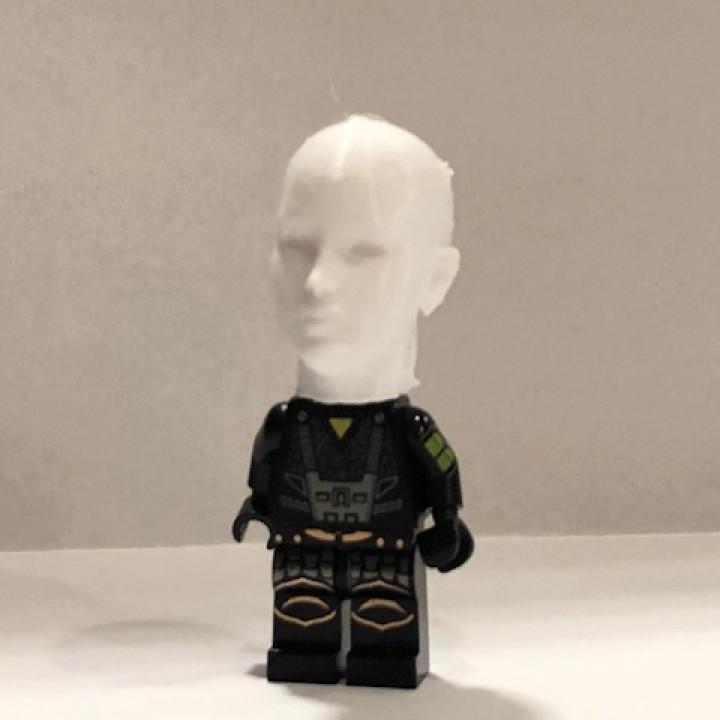 Realistic LEGO head
