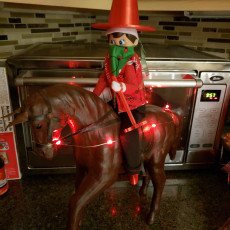 Picture of print of Elf on the Shelf Cowboy Accessory Pack