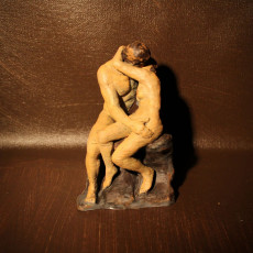 Picture of print of The Kiss