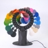 RAINBOW ROLLER-COASTER - KINETIC CIRCLE SCULPTURE image