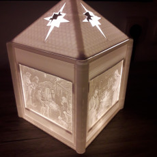 Picture of print of Nativity Lantern