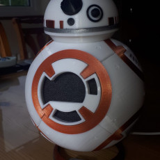 Picture of print of BB-8 Google Home Costume or BB8 Model
