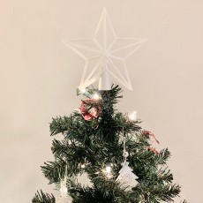 Picture of print of Star Christmas tree topper