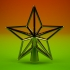 Star Christmas tree topper image