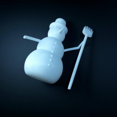 Picture of print of Snowman