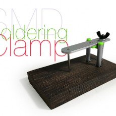 SMD soldering clamp