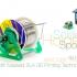 Solder Spool Holder width Masked SLA 3D Printing image