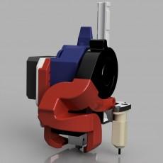 3D Printable Volcano Direct Mount for CR-10 Printer by JONATHAN