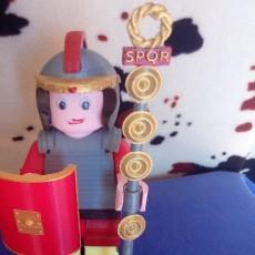 SIGNUM-BANNER LEGIONARIO ROMANO LEGO GIANT
