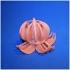 lotus lamp by swar print image