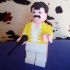 HEAD FREDDY MERCURY LEGO GIANT image
