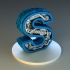 steampunk letter S image