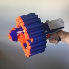 72 Nerf dart rail attachment