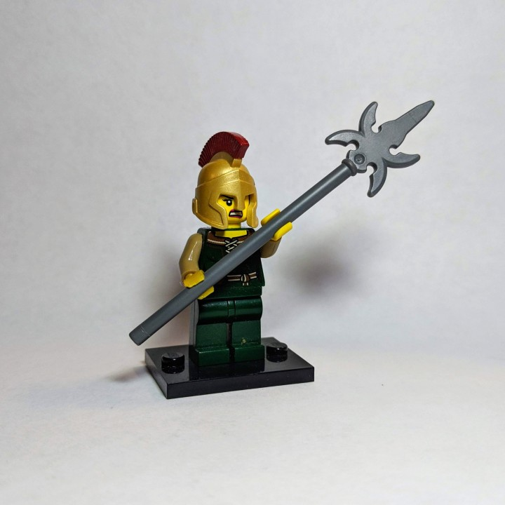 Lego hand with reversed wrist
