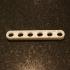 6x1 Lego Technic Thin Liftarm - Part #32063 image