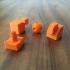 3d Printed Rubix's Cube print image