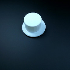Picture of print of Monopoly Top Hat
