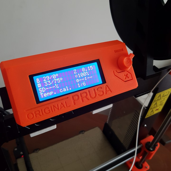 photo relating to Si Printable Bracket identify 3D Printable Refreshing Liquid crystal display Brackets For Prusa MK2/MK3 via WaveForm
