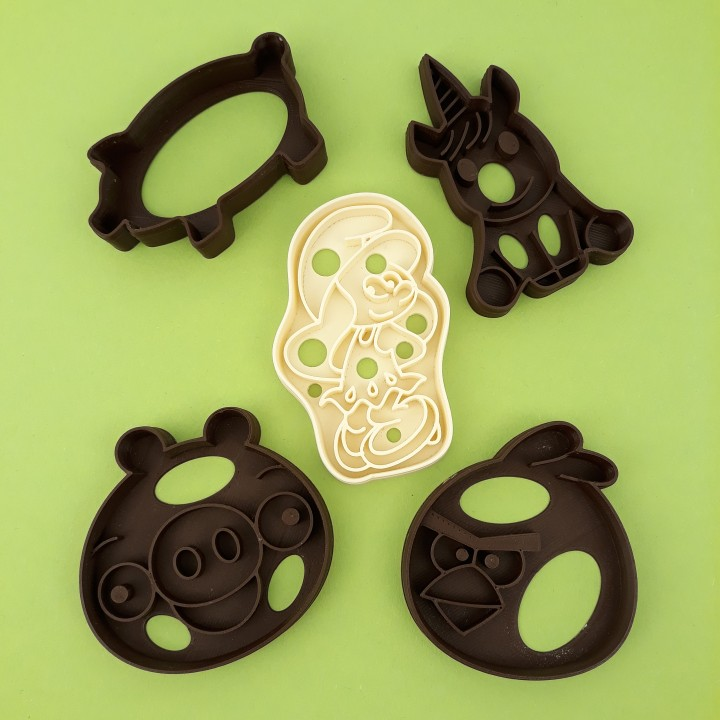 Cookie cutters set