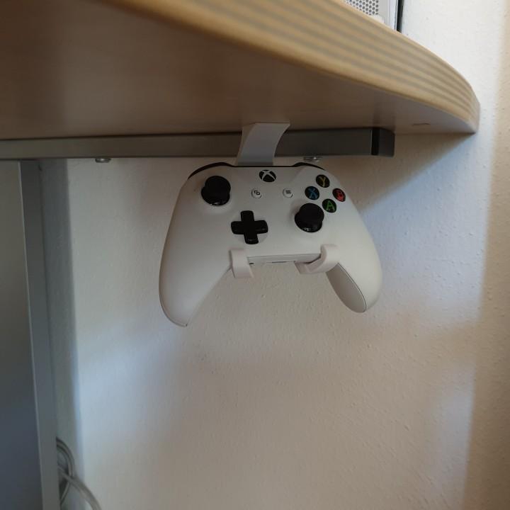 Under-Desk Xbox One Controller Holder