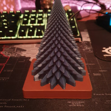 Picture of print of Tristar tree