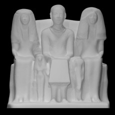 Family group of Ptah-mai, chief of the Wah-priests of Ptah