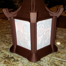 Picture of print of Modular Lithophane Lantern