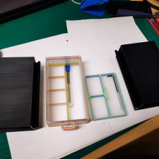Picture of print of prusa I3 MK3 drawers
