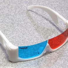 3D glasses frame for film-made anaglyph glasses