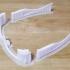 3D glasses frame for film-made anaglyph glasses image
