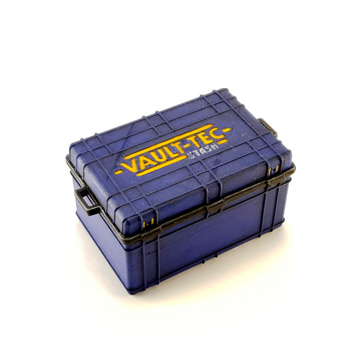 3D Printable Fallout76 Stash Box by Brodie Fairhall