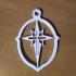 Bethlehem Star/Cross Ornament v2.0 image