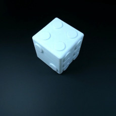 Picture of print of 6-sided Pair of Dice