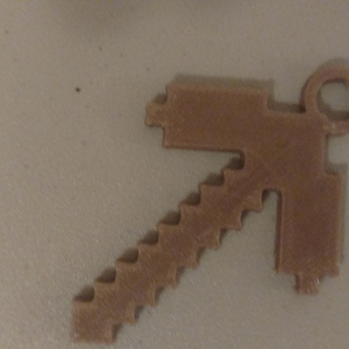 Minecraft Pickaxe Ornament