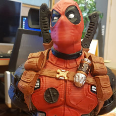 Picture of print of Deadpool Bust (Remastered Supportless Edition) 这个打印已上传 SANGHO,Lee