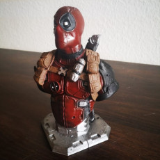 Picture of print of Deadpool Bust (Remastered Supportless Edition) 这个打印已上传 Zanki Romano