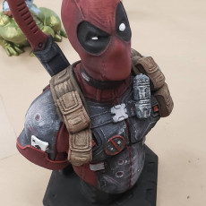 Picture of print of Deadpool Bust (Remastered Supportless Edition) 这个打印已上传 CHAOSMakers