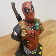 Picture of print of Deadpool Bust (Remastered Supportless Edition) 这个打印已上传 Marius Stokken