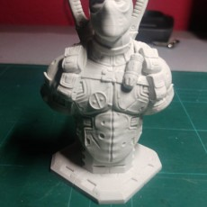 Picture of print of Deadpool Bust (Remastered Supportless Edition) 这个打印已上传 Dlb Five